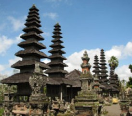 Pagoda at Taman ayun temple