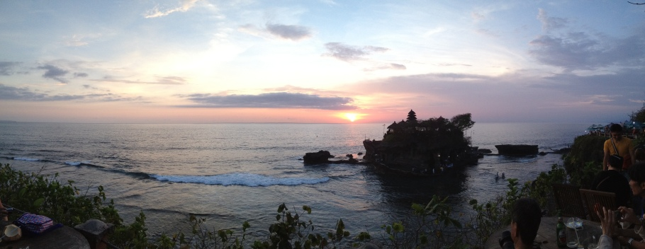Sunset @ Tanah Lot Temple